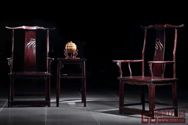 红宝轩《大明雅韵·辉煌腾达官帽椅》